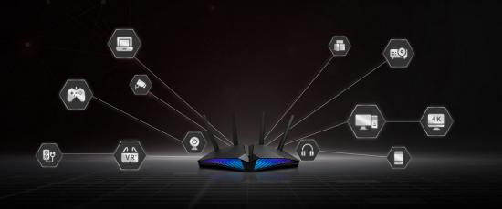 ASUS gaming ruter z WIFI 6