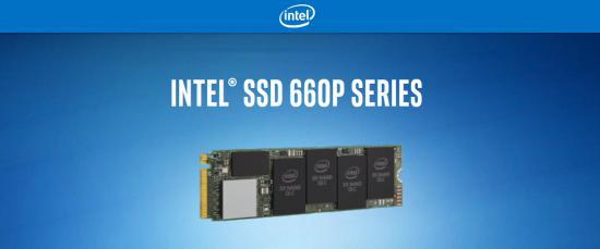Intel 660p NVMe diski s QLC flasom