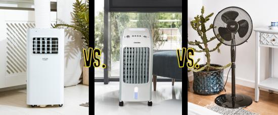 Klime, hladilci zraka in ventilatorji