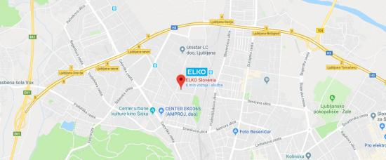 Nova lokacija ELKO - Magistrova 1
