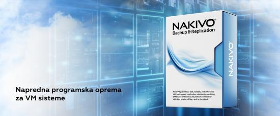 NAKIVO - napredna programska oprema za VM backup