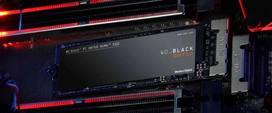 Novi WD BLACK™ SN750 NVMe™ SSD diski