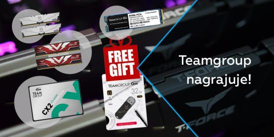 Teamgroup nagrajuje!