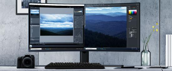 Ultra široooki monitorji
