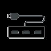 USB hubi