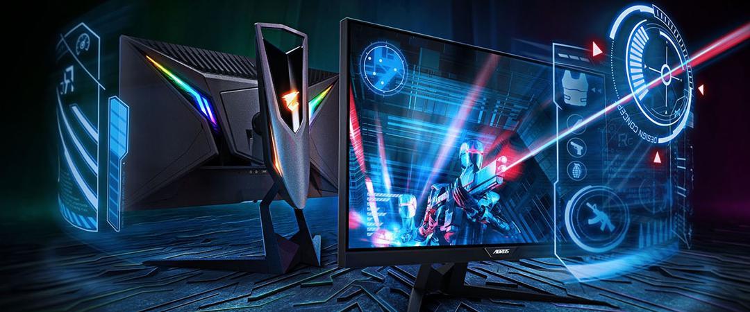 NOVO - GIGABYTE gaming monitorji