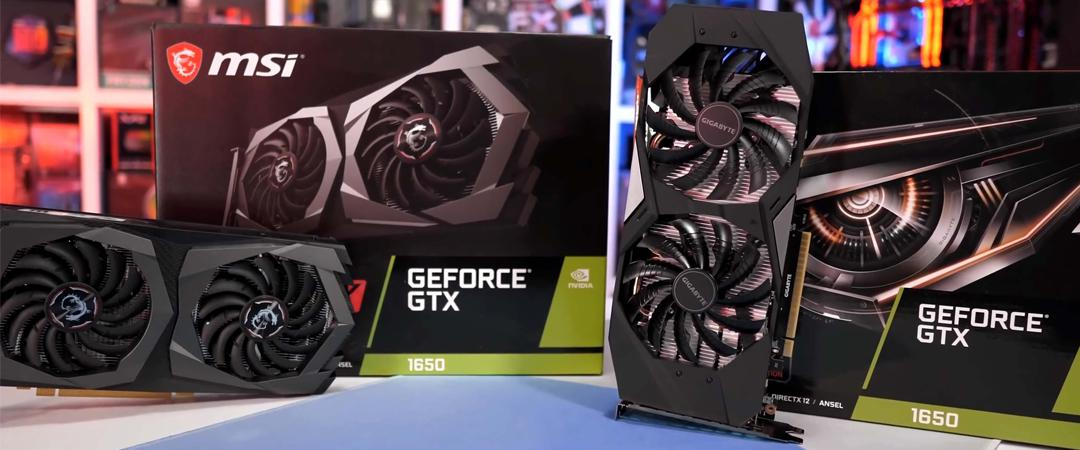 Predstavljamo: GeForce GTX 1650