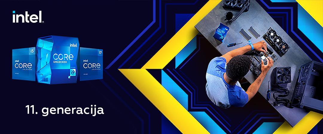 Intel® Core™ procesorji 11. generacije so tu!