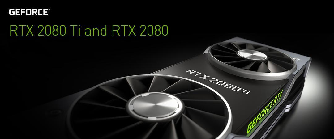 Nove NVIDIA RTX že pri nas