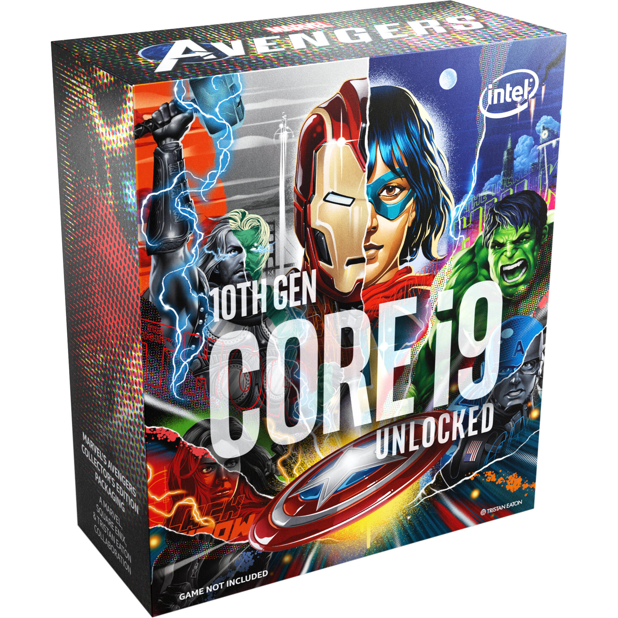 Intel Core i9 10850K BOX procesor - Marvel's Avengers Collector's