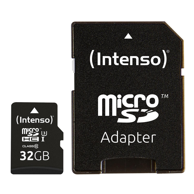 Intenso 32GB microSDXC UHS-I Class 10 Pro 90MB/s spominska kartica