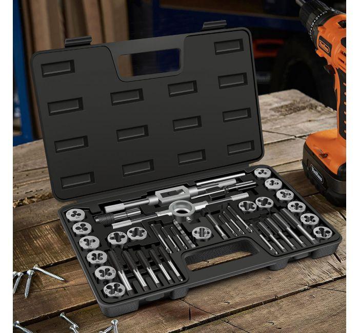 VonHaus 40 delni set orodja za izdelavo navojev