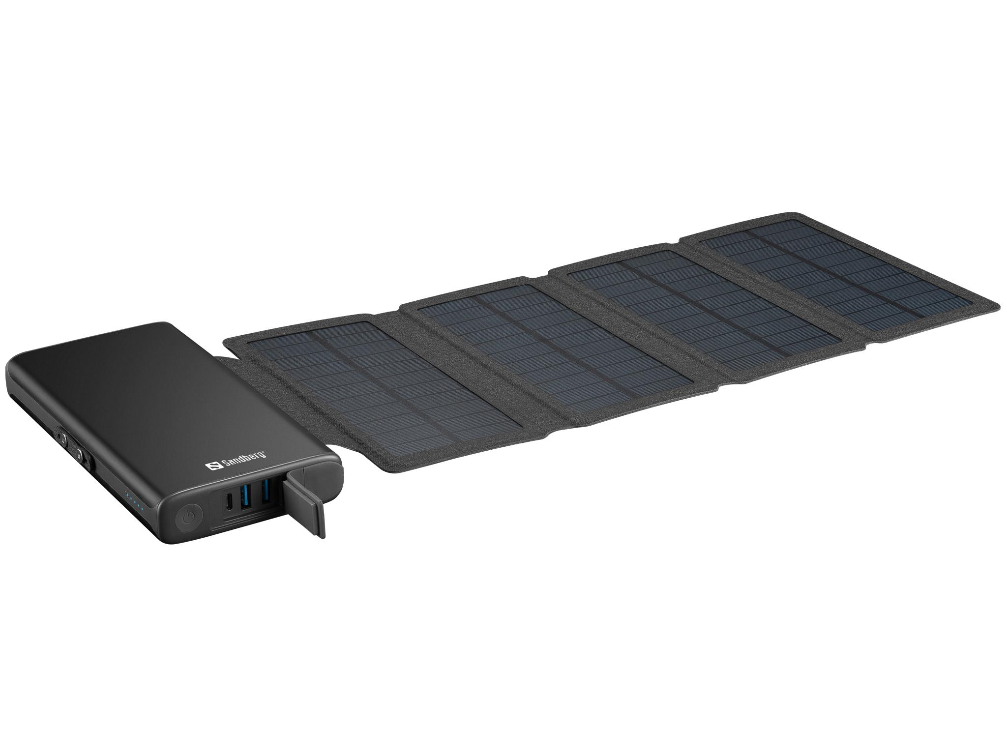 Sandberg 4 panelna solarna prenosna baterija 25.000