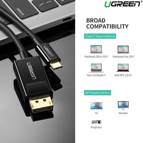 Ugreen kabel USB-C v DP 4K (DisplayPort) 1.5M
