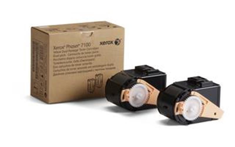 Toner rumen dvojno pakiranje Phaser 7100 za 9.000 za kopij