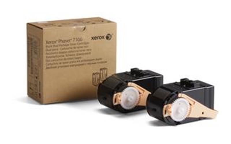 Toner črn, dvojno pakiranje za  Phaser 7100 za 10.000 kopij