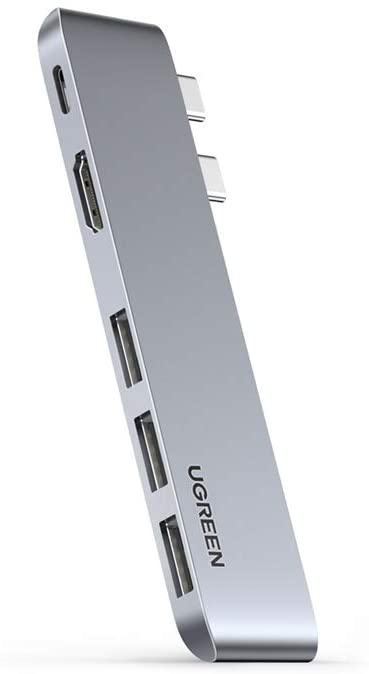 UGREEN USB-C Hub za MacBook (HDMI, USB-C, 2x USB 3.0)
