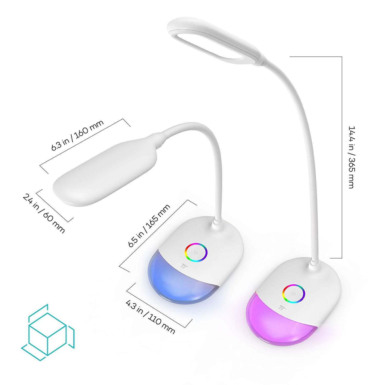 TaoTronics LED namizna svetilka RGB TT-DL070