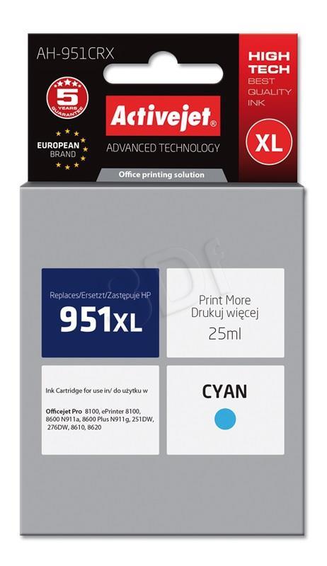 ActiveJet cyan črnilo HP CN046AE 951XL