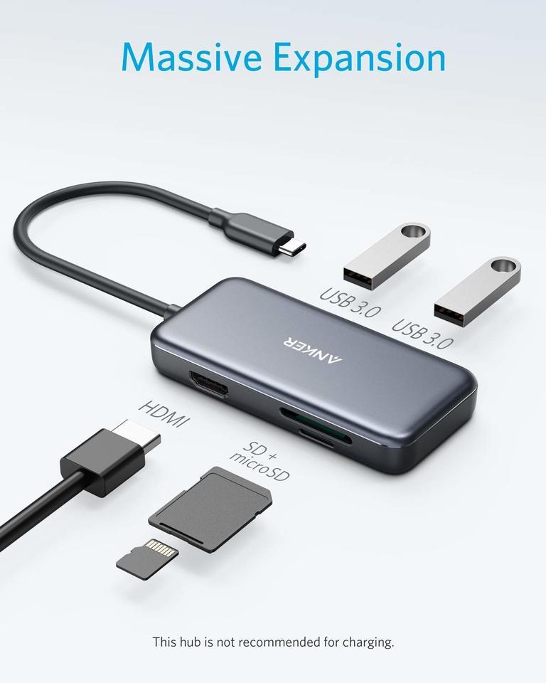 Anker USB-C Hub 5v1 4K