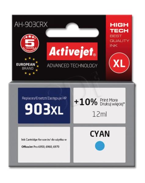ActiveJet cyan črnilo HP 903 XL T6M03AE