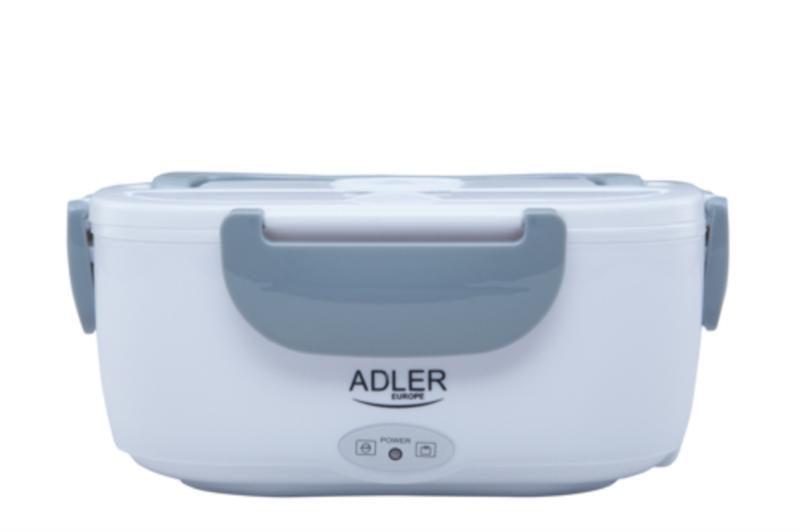 Adler električna posoda za malico 1.1 l siva