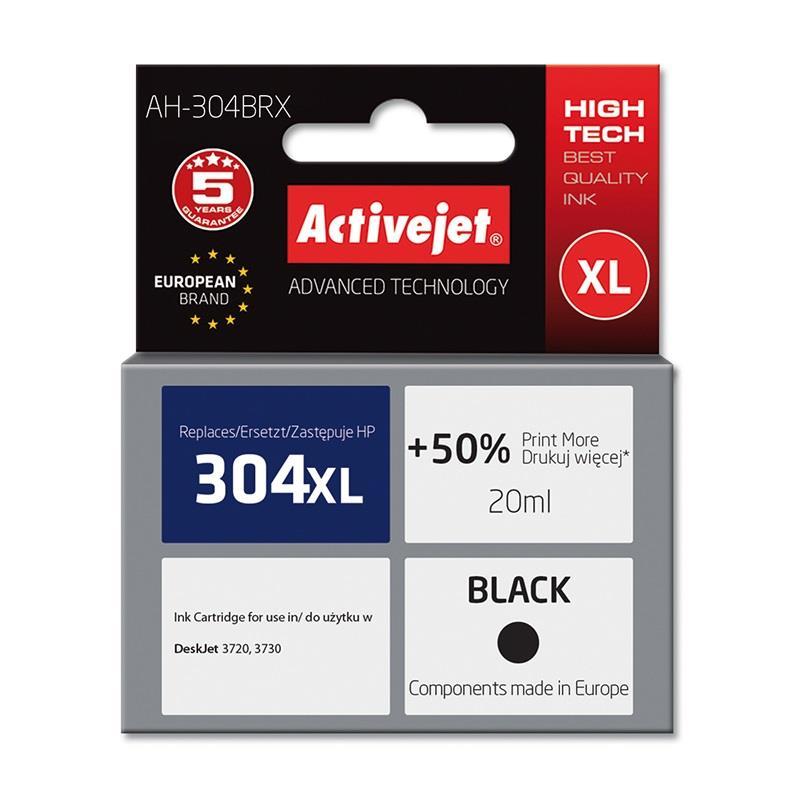 ActiveJet črno črnilo HP 304XL N9K08AE