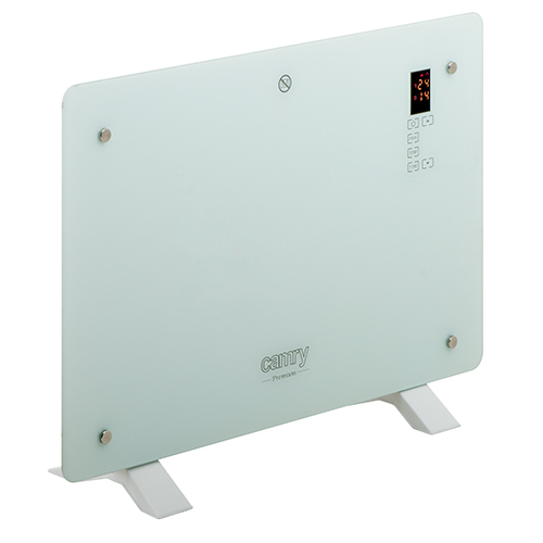 Camry konvektorski radiator steklo LCD 1500W