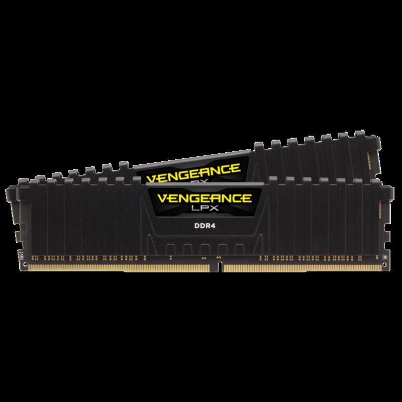 Corsair VENGEANCE LPX 16GB (2 x 8GB) DDR4 DRAM 2666MHz PC4-21300 CL16, 1.2V
