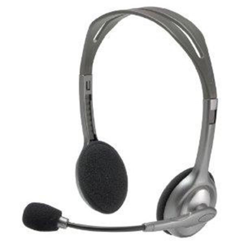 Logitech Stereo Headset H110 slušalke z mikrofonom