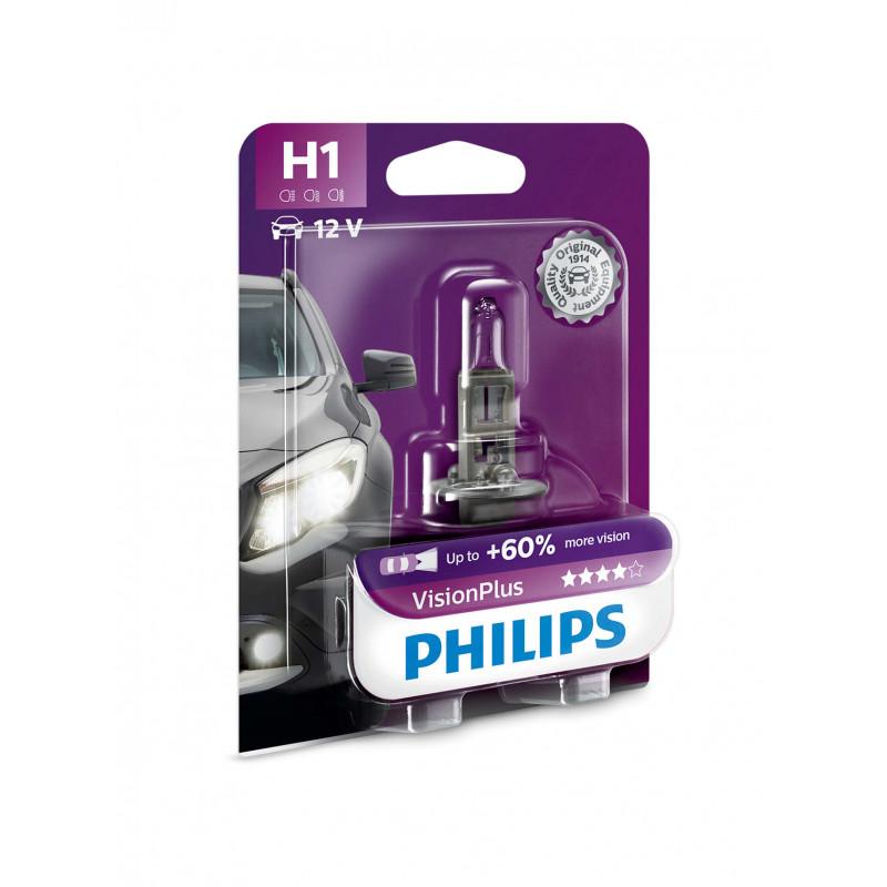 Philips avtomobilska žarnica VisionPlus H1 12V 55W