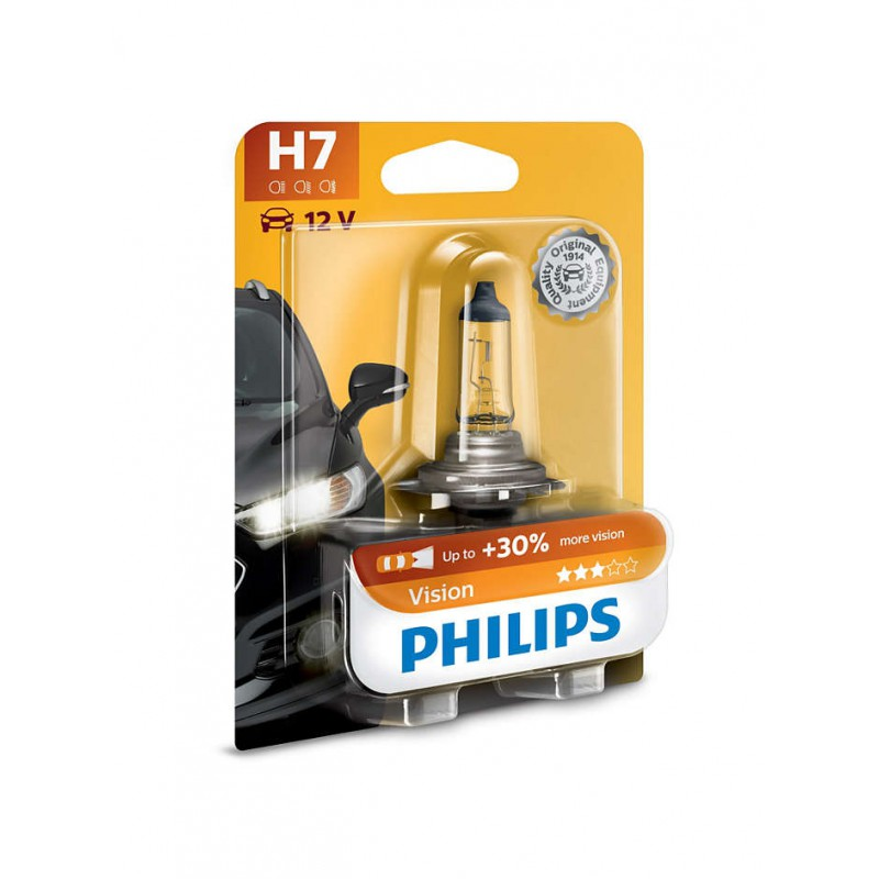 Philips avtomobilska žarnica Vision H7 12V 55W