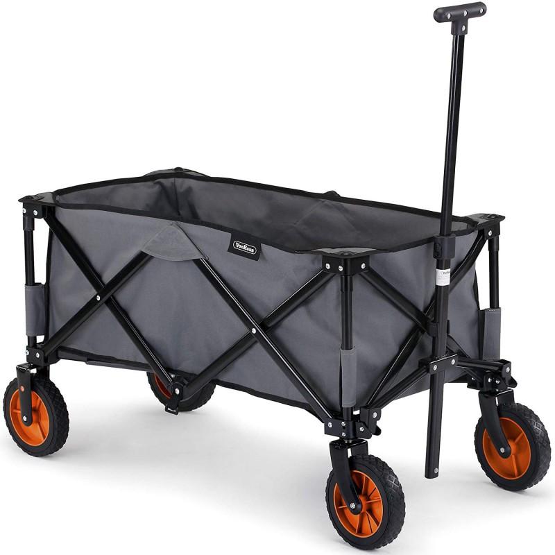 VonHaus zložljiv voziček za kampiranje