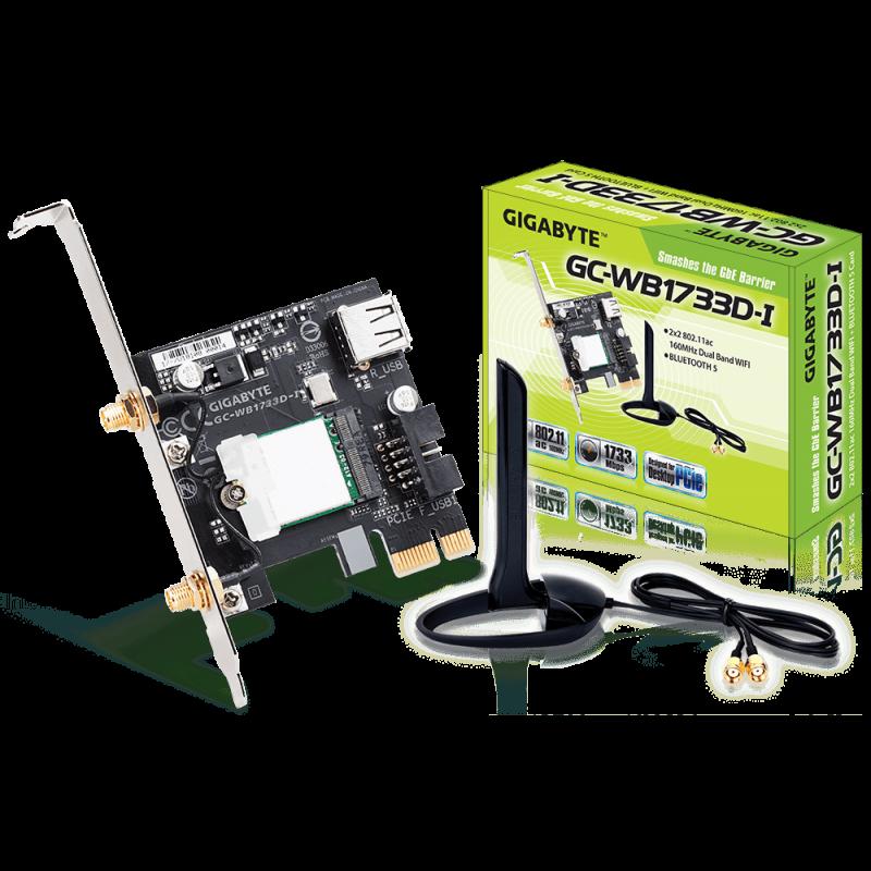 Gigabyte 2x2 802.11ac Dual Band WIFI + BLUETOOTH 5 PCIe kartica
