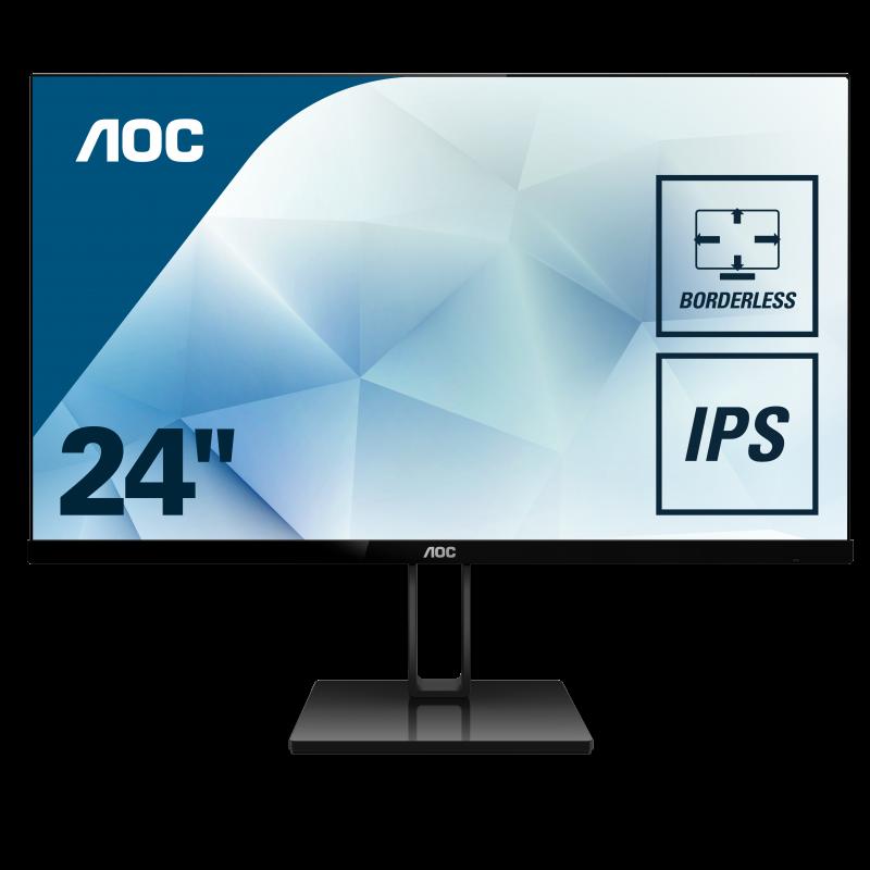 "AOC 24V2Q 23,8"" IPS monitor"