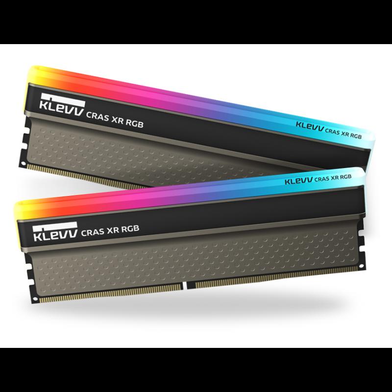 Klevv Crass XR RGB 16GB Kit (2x8GB) DDR4-3600MHz CL18, 1.35V
