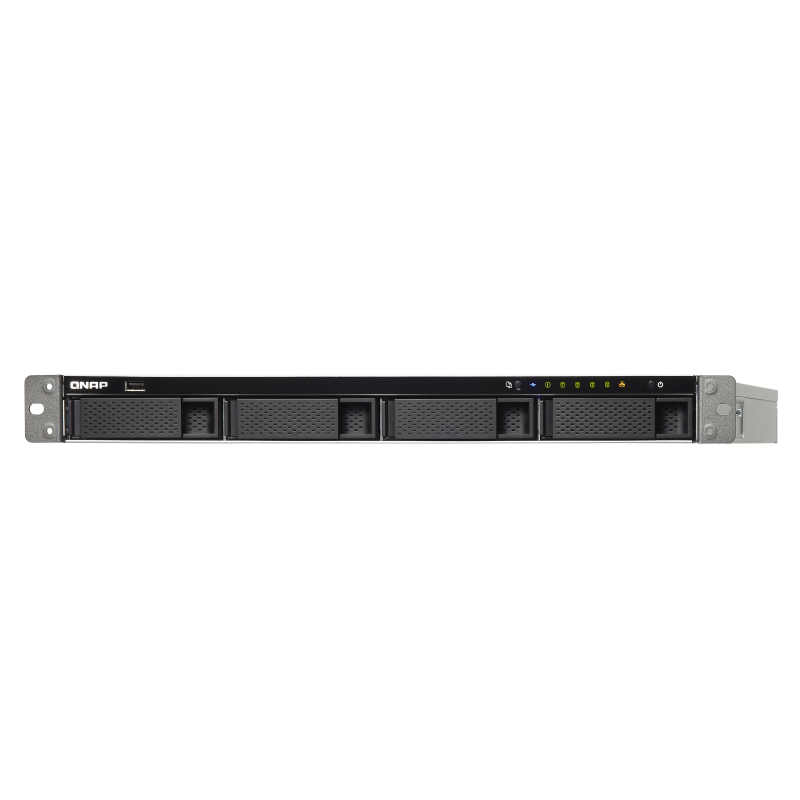 QNAP TS-463XU-RP-4G  1U 4-Bay AMD 64bit x86-based NAS strežnik za 4 × HDD