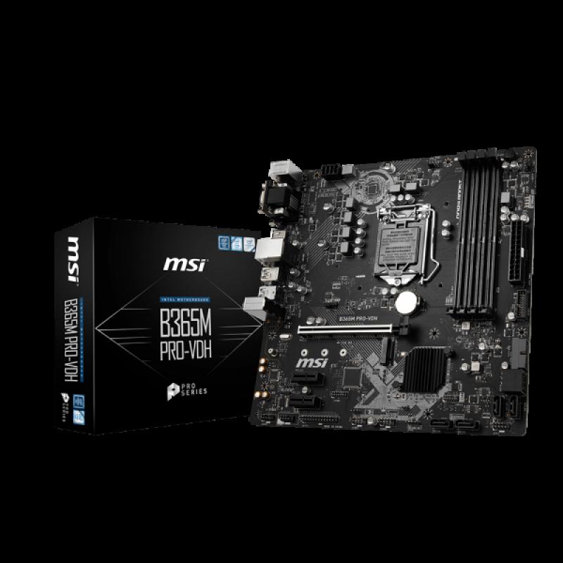 Osnovna plošča MSI B365M PRO-VDH
