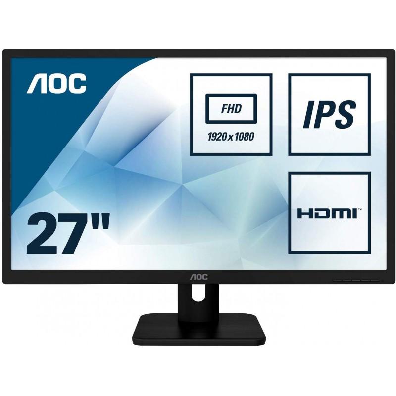 "AOC 27E1H 27"" IPS monitor"
