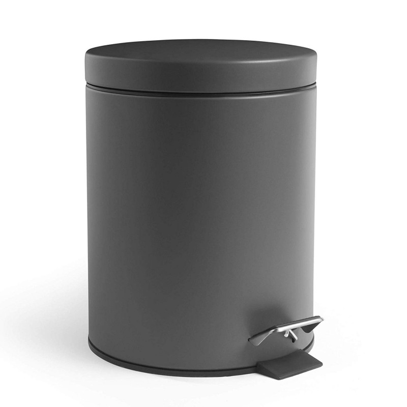VonHaus koš za smeti 5L mat siv