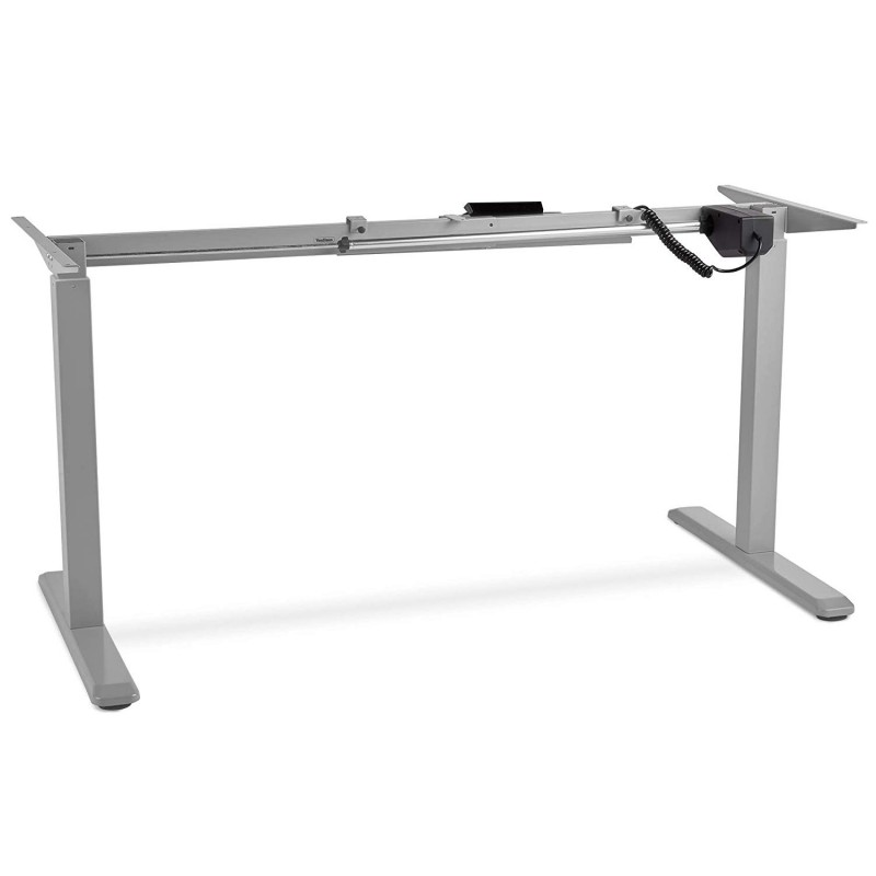 VonHaus električen Sit/Stand okvir za mizo siva