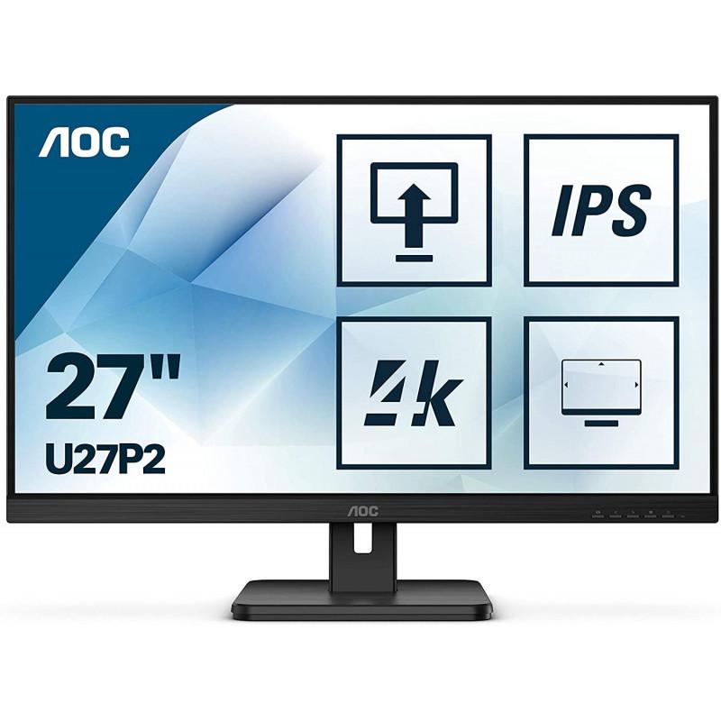 "AOC U27P2 27"" IPS 4k monitor"