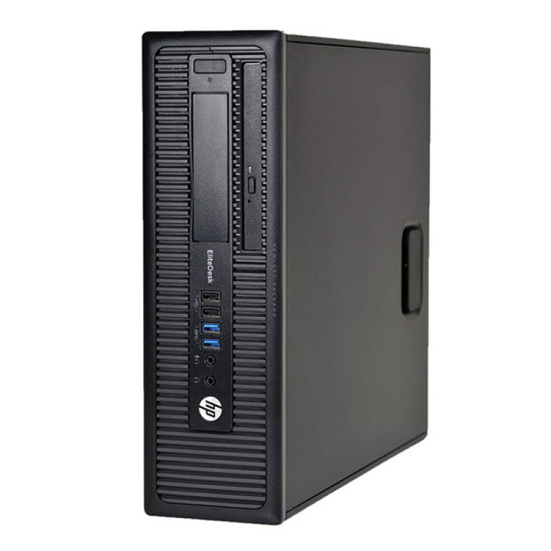 HP EliteDesk 800 G1 SFF i5-4570 8GB 256GB SSD Windows 10 Pro - obnovljen računalnik