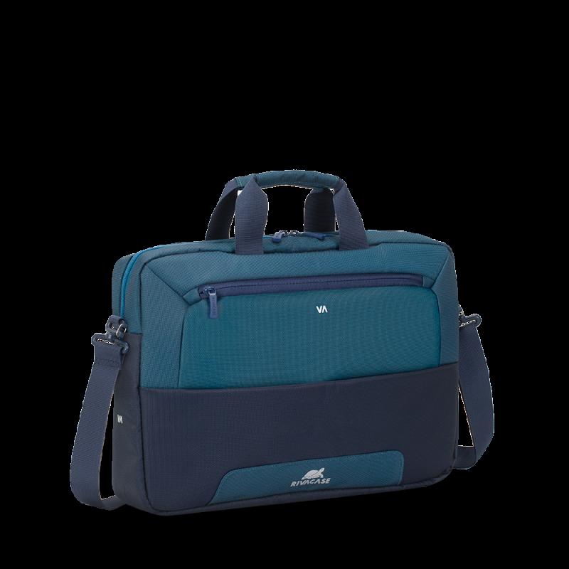 """RivaCase sivo/modra torba za prenosnike 15.6"""" 7737 vodoodporna"""