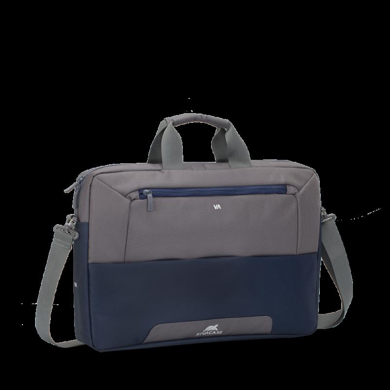 """RivaCase sivo/modra torba za prenosnike 17.3"""" 7757 vodoodporna"""