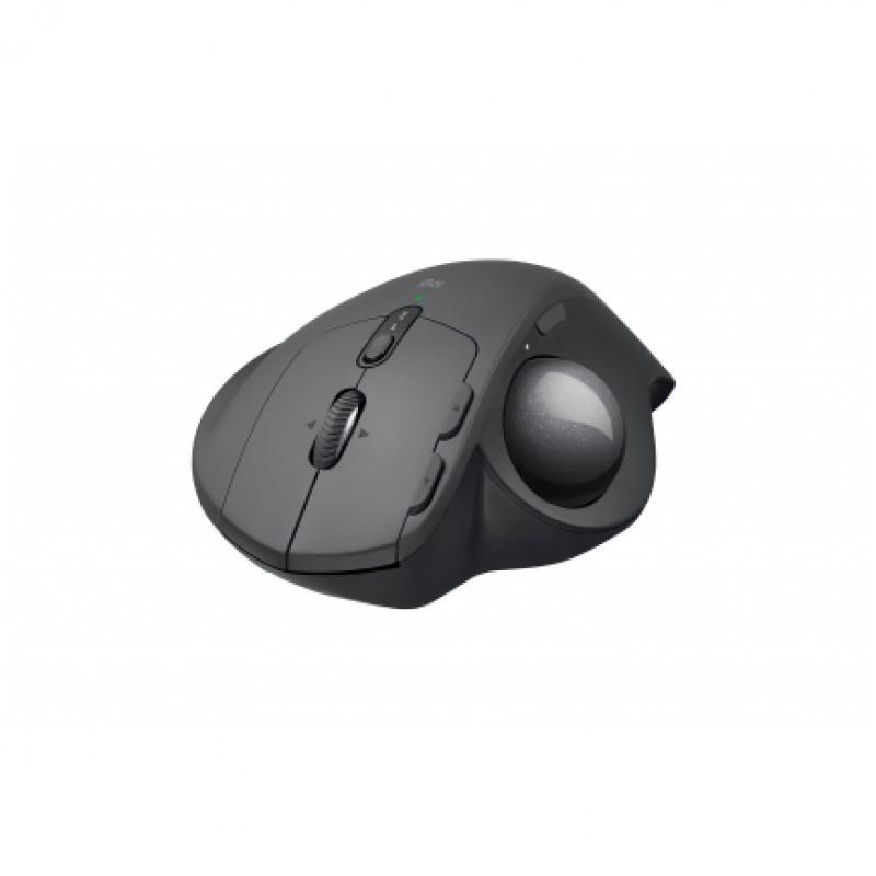 Logitech miška MX ERGO Trackball Wireless Bluetooth polnilna