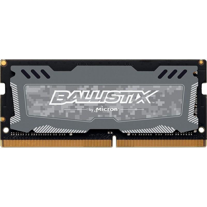 Crucial Ballistix Sport 8GB DDR4-2400 SODIMM PC4-19200 CL16, 1.2V
