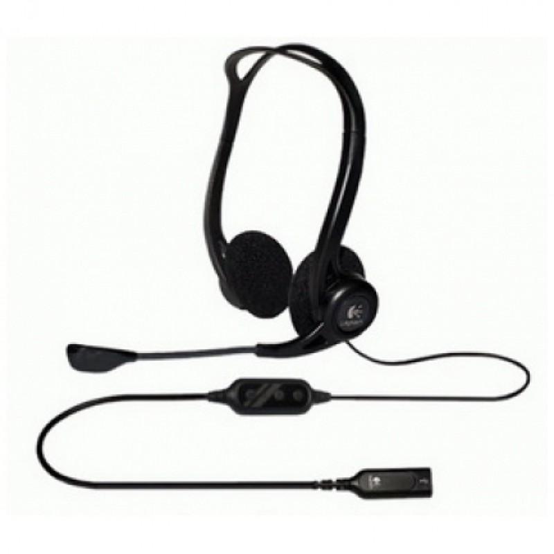 Logitech slušalke USB PC 960 stereo z mikrofonom