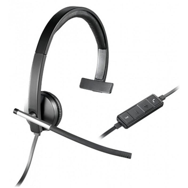 Logitech H650e slušalke, USB