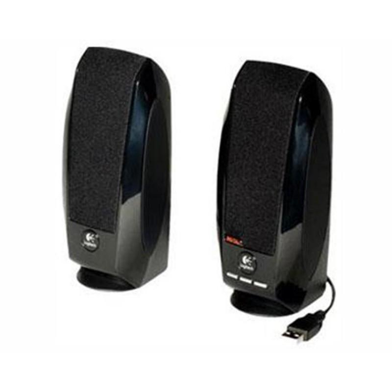 Logitech zvočniki 2.0 S150 RMS 1.2W USB črni